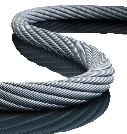 Stahlseil für doppelseitigen Klapprahmen