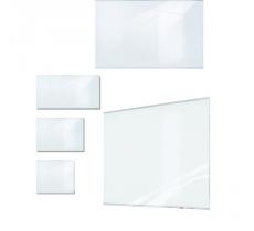 Glasschreibtafel Pure 104 x 117,5 cm