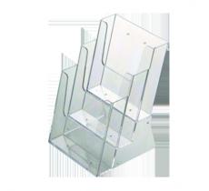Prospekthalter Multi Pocket 4 x DIN 1/3 A4