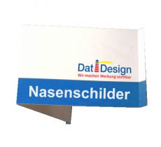 Nasenschild 540 x 400 mm