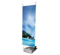 Outdoor Banner-Stand inkl. Druck