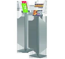 Prospektständer StreamLine, Kapazität: 3 x DIN A4 Hochformat (210 x 297 mm)