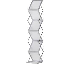 Prospektständer Zigzag Acryl matt